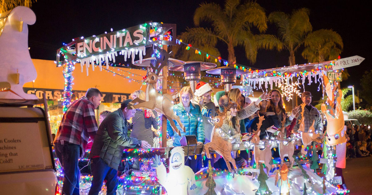 Encinitas Holiday Parade | San Diego's North County