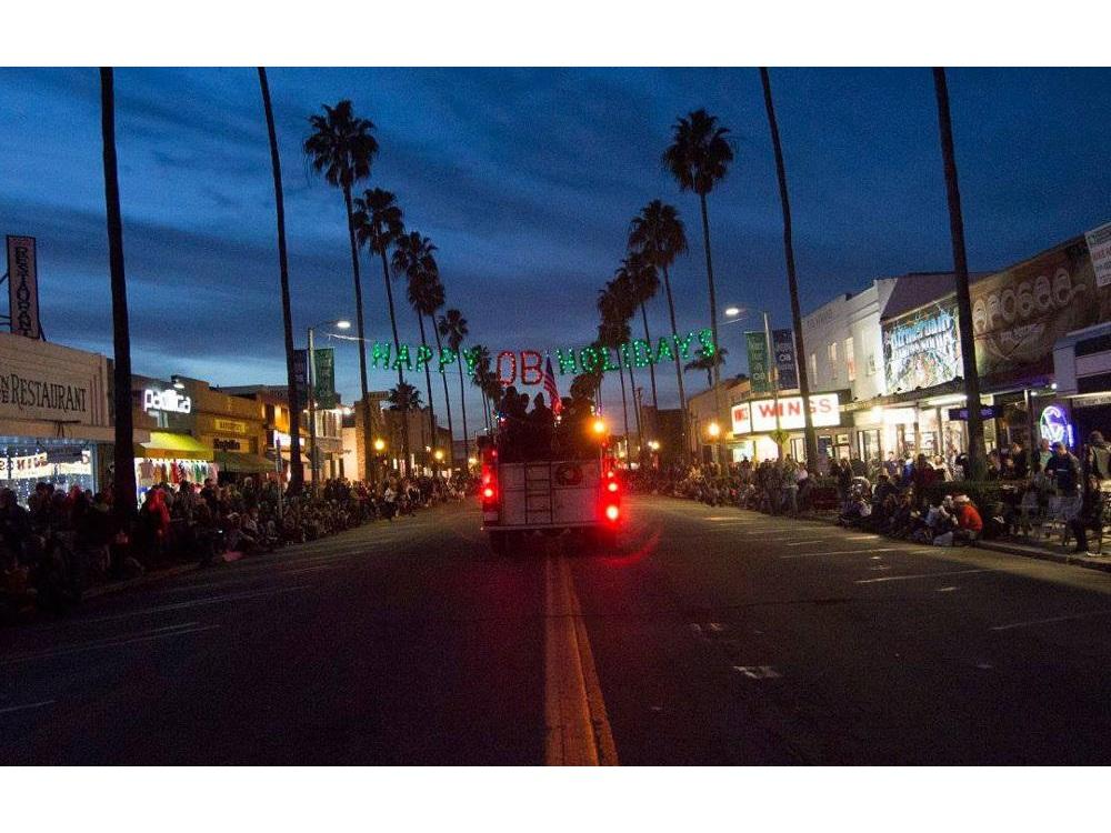 Ob Christmas Parade 2019 Ocean Beach Holiday Parade