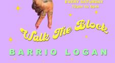 Walk the Block Barrio Logan Logo