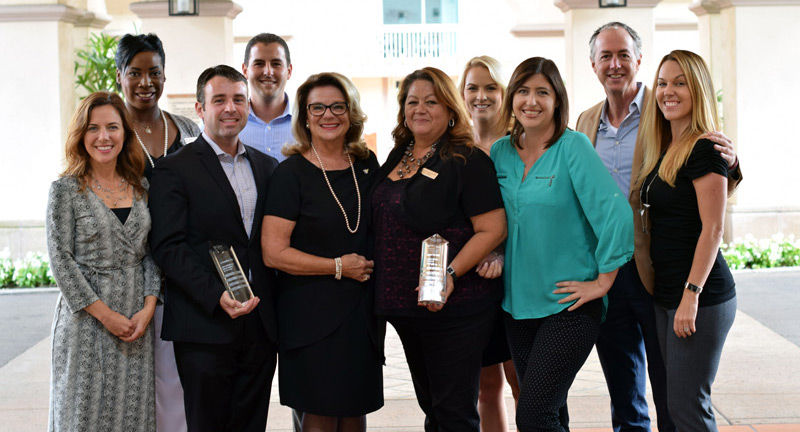 HOTEL SALES TEAM OF THE YEAR:  HILTON SAN DIEGO RESORT