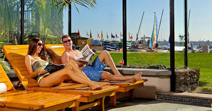 Green Initiative at Catamaran Resort