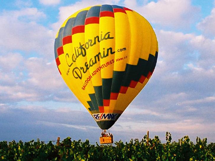 Hot Air Balloon Ride with California Dreamin'