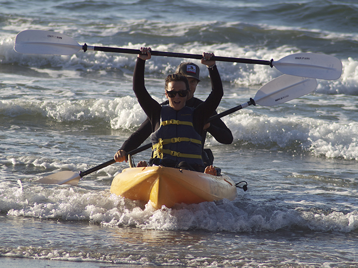 Kayaking at La Jolla Shores