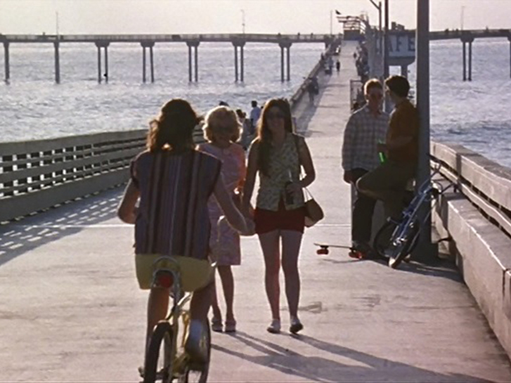 Ocean Beach Pier in Almost Famous Movie