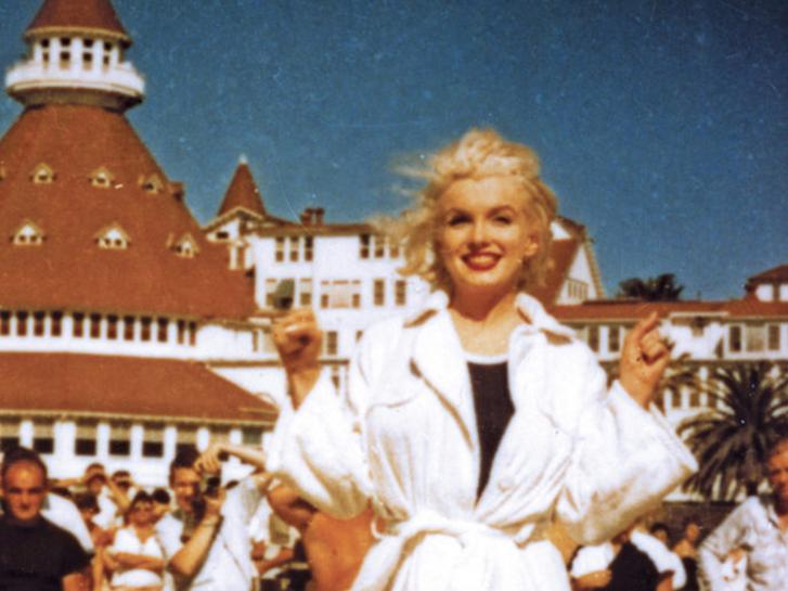 Hotel del Coronado in Some Like It Hot Movie