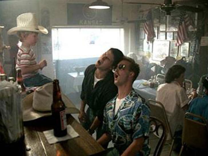 Kansas City Barbeque in Top Gun Movie