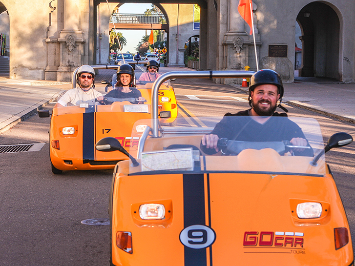 GoCar Tours of San Diego