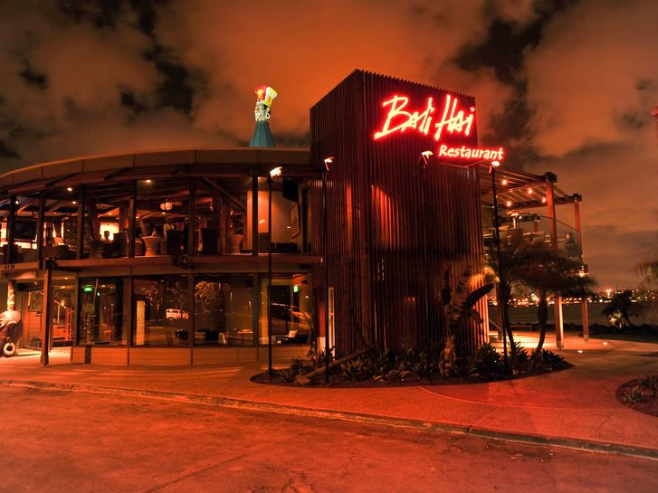 Bali Hai restaurant on Shelter Island in San Diego