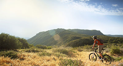 Off-road mountain biking in San Diego's East County
