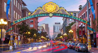 San Diego's Gaslamp Quarter & Downtown Neighborhoods