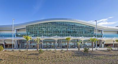 Rental Car center at the San Diego International Airport