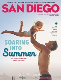 Summer 2019 San Diego Visitors Planning Guide cover