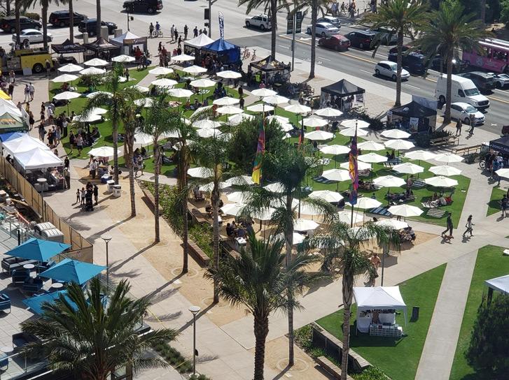 Lane Field Park Markets San Diego
