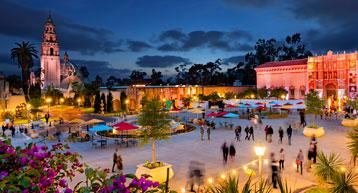 Balboa Park in San Diego CA