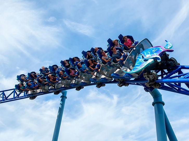 Soar on World-Class Coasters