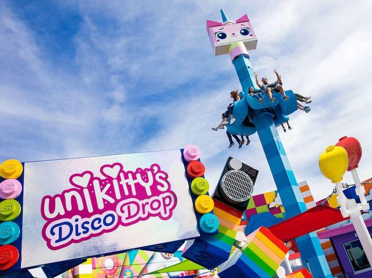 Disco Kitty Drop at LEGO Movie World at LEGOLAND California Resort in San Diego