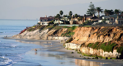 Carlsbad Cove in San Diego County