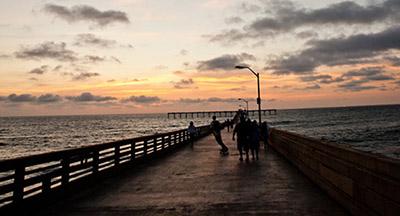 Ocean Beach Pier in San Diego CA