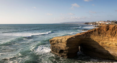 Point Loma Beaches - Sunset Cliffs - San Diego CA