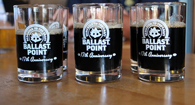 Tasters at Ballast Point