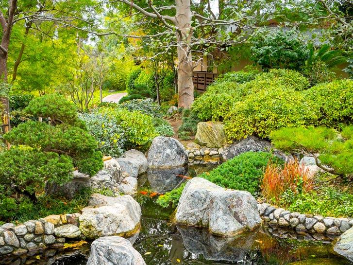 Japanese Friendship Garden San Diego CA