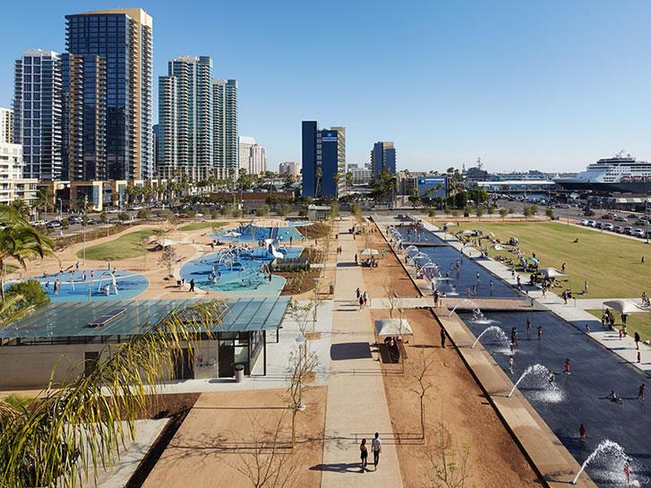 San Diego CA Waterfront View