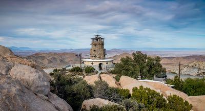 Desert View Tower - Historic Highway 80 - San Diego's Desert to Ocean Road Trip