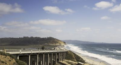 Highway 101 in Del Mar - San Diego's 59-Mile Scenic Drive