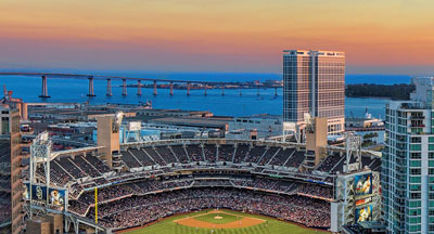 Petco Park - Home to the San Diego Padres