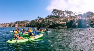 Kayaking in San Diego CA