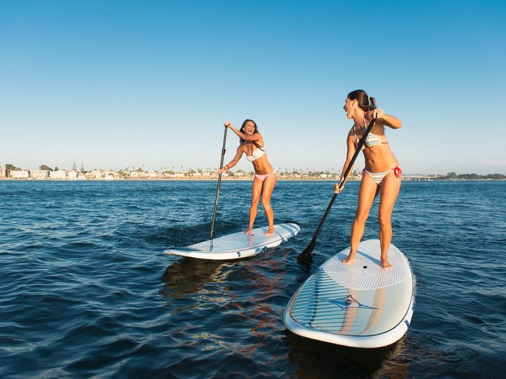 7 Places to Stand Up Paddle Board in San Diego