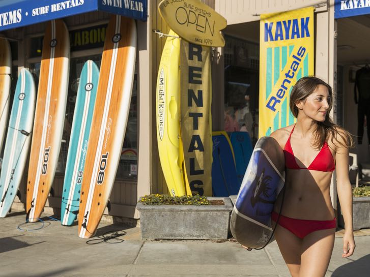 Surfboard and Paddle Board Rentals in San Diego