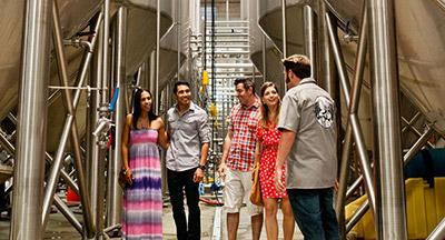 Stone Brewery tour San Diego CA