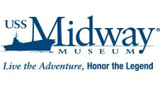 USS Midway Museum logo San Diego