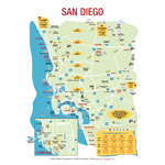 San Diego Driving Distance Map