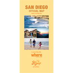 San Diego Official Map